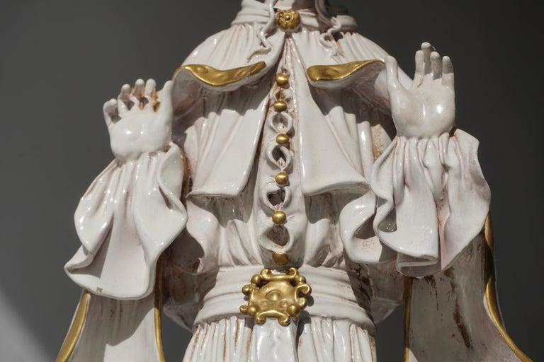 Italian Porcelain Figure by Batiguani For Sale 12