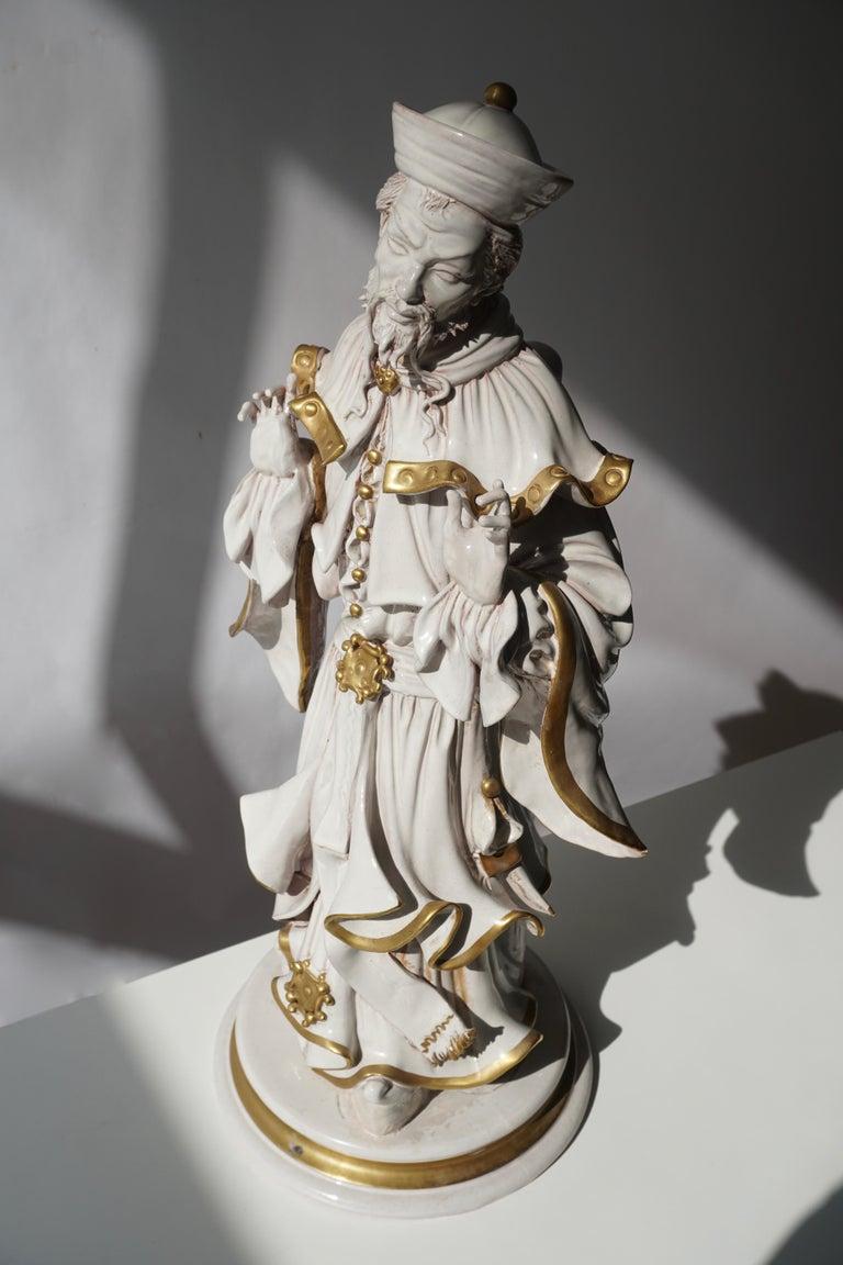 Italian Porcelain Figure by Batiguani For Sale 13