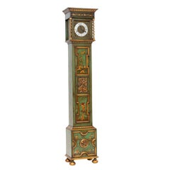 Chinoiserie Lacquered Grandmother Clock