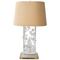 Chinoiserie Motif Table Lamp