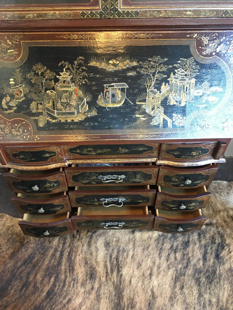 Chinoiserie Secretary For Sale 5