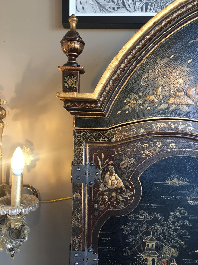 Chinoiserie Secretary For Sale 2