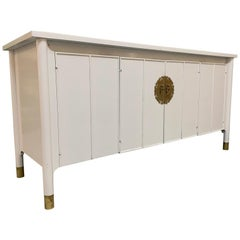 Chinoiserie Style Credenza Sideboard
