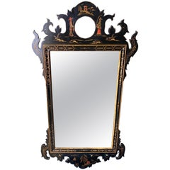 Chinoserie Decorated Mirror