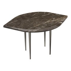 Chio Coffee Table in Brown Damasco Marble