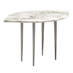 Chio Coffee Table in Gold Calacatta Marble