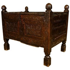 Chip Carved Coffer