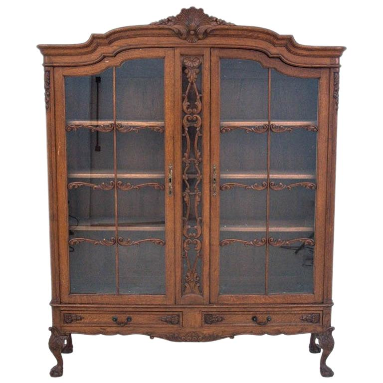 Chipendalle-Style Library / Display Case, circa 1930