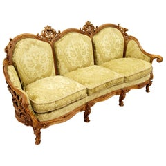 Chippendale Chesterfield Sofa Couch Armchair Baroque Antique Baroque