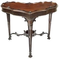 Chippendale Design 19th Century Corner Table