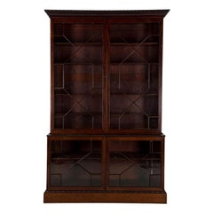 Chippendale Period Mahogany Bookcase