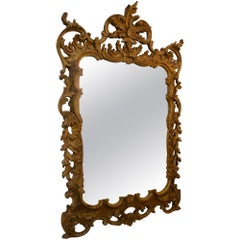 Chippendale Rococo Style Wall Mirror