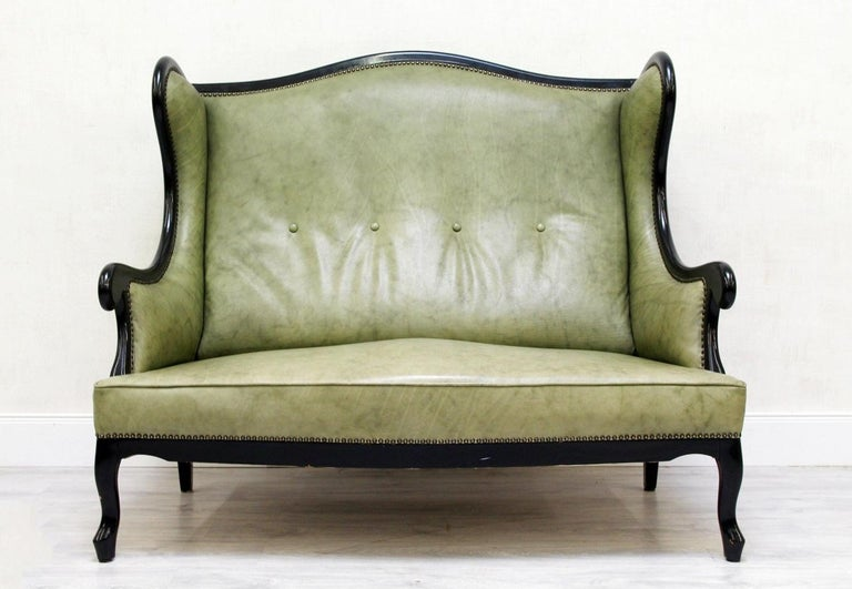 Astounding Chippendale Sofa Leather Antique Vintage Couch English Leather Sofa Alt Gmtry Best Dining Table And Chair Ideas Images Gmtryco