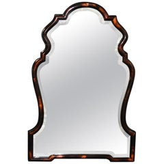 Chippendale Style Horn Mirror