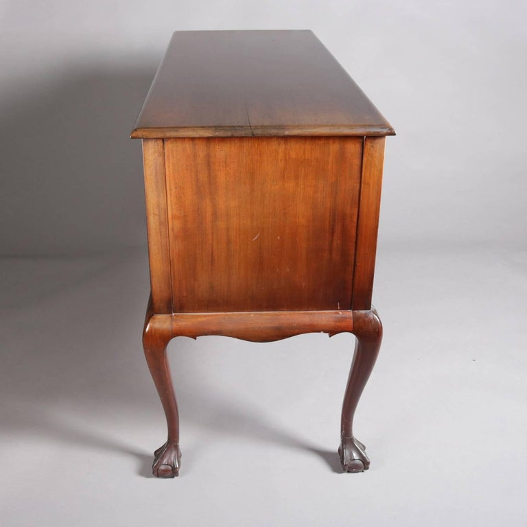 Chippendale Style Mahogany Four Drawer Server By Kaplan Furniture At