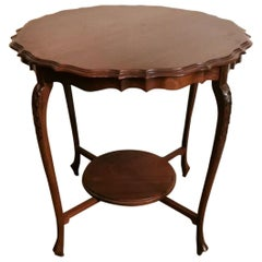 Chippendale Style Mahogany Tea Table, England