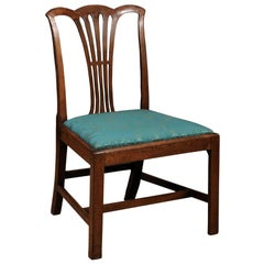 Chippendale Style Side Chair in Mahogany, England, circa 1840
