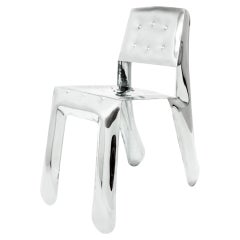 Chippensteeel 0.5 Chair by Zieta, Polished Stainless Steel