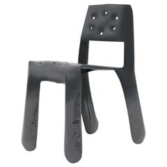 Chippensteel 0.5 Aluminium Chair in Graphite by Zieta