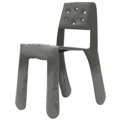 Chippensteel 0.5 Aluminum Chair in Umbra Grey by Zieta