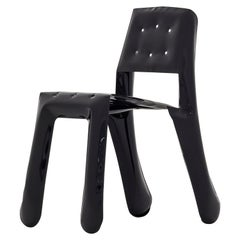 Chippensteel 0.5 Polished Balck Glossy Color Carbon Steel Seating by Zieta