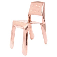 Chippensteel 0.5 Polished Copper Seating by Zieta