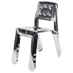 Chippensteel 0.5 Polished Stainless Steel Seating by Zieta