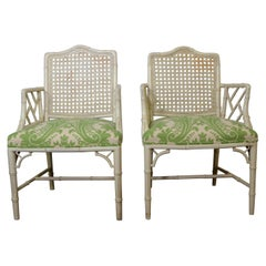 Chippindale Style Armchairs S/2
