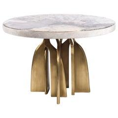 """Chital"" Breakfast Table and Dandy Bench Kifu Paris"