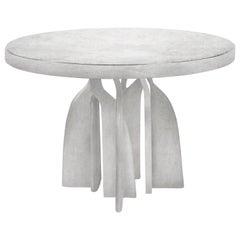 """Chital"" Breakfast Table in Cream Parchment by Kifu Paris"