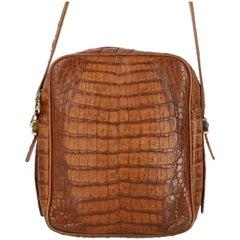 Chloé Vintage Crocodile Leather Bag, 1980s