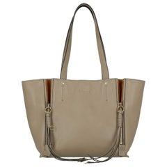 Chloé Woman Shoulder bag  Beige Leather