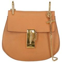 Chloé Woman Shoulder bag Drew Orange Leather