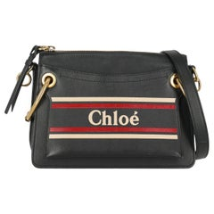Chloé Woman Shoulder bag Navy Leather