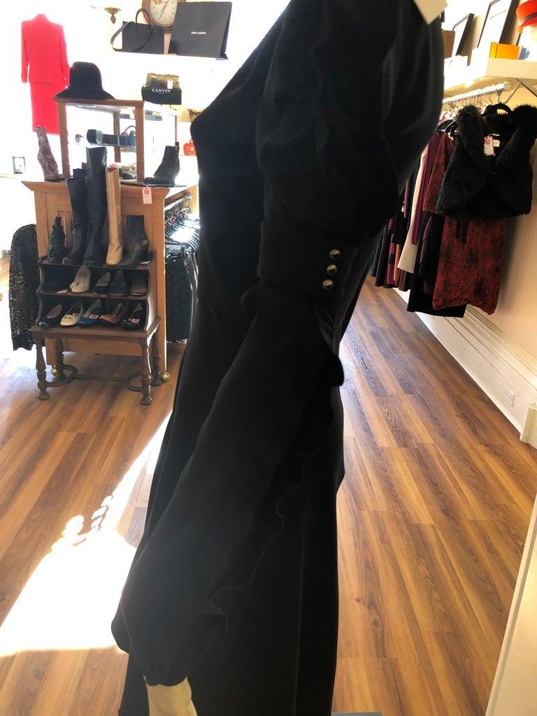 CHLOE 2018/19 NWT Black Crepe Dress Size 34 Fr For Sale 1