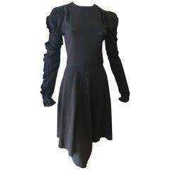 CHLOE 2018/19 NWT Black Crepe Dress Size 34 Fr