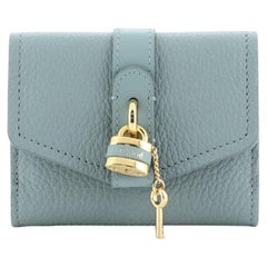 Chloe Aby Trifold Wallet Leather Small