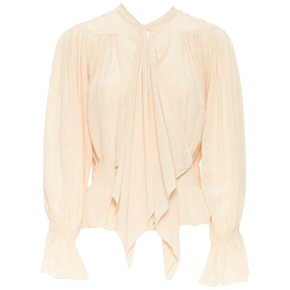 Silk blouse Chloé Beige size 34 FR in Silk - 8834191