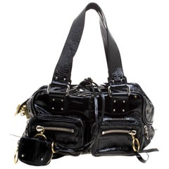 Chloe Black Patent Leather Betty Bag
