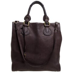 Chloe Brown Leather Aurore Pure Paddington Tote