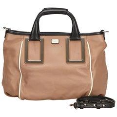 Chloe Brown Leather Ethel