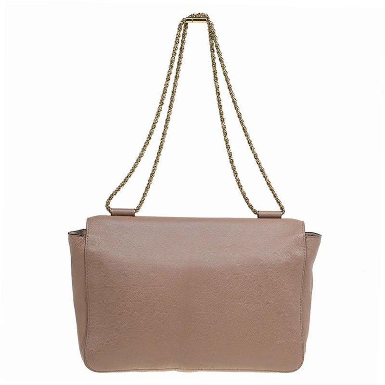 9100264a9f Chloe Brown Leather Large Elsie Shoulder Bag For Sale at 1stdibs