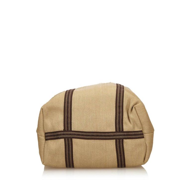 Women's Chloe Brown Rayon Tote Bag For Sale
