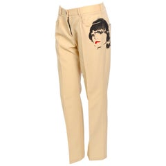 Chloe by Stella McCartney collectable fall 2001 face pants