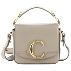 Chloe C Crossbody Bag Leather Mini