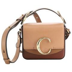 Chloe C Double Carry Bag Leather Mini