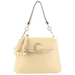 Chloe C Shoulder Bag Leather Medium
