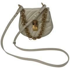 Chloe Cream Crossbody Bag