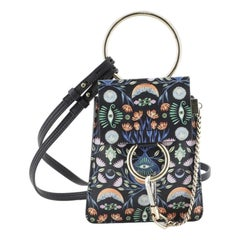 Chloe Faye Bracelet Crossbody Bag Printed Leather Mini