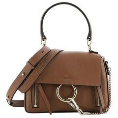 Chloe Faye Day Bag Leather Mini